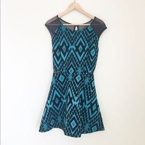 Like new! Trixxi teal dress